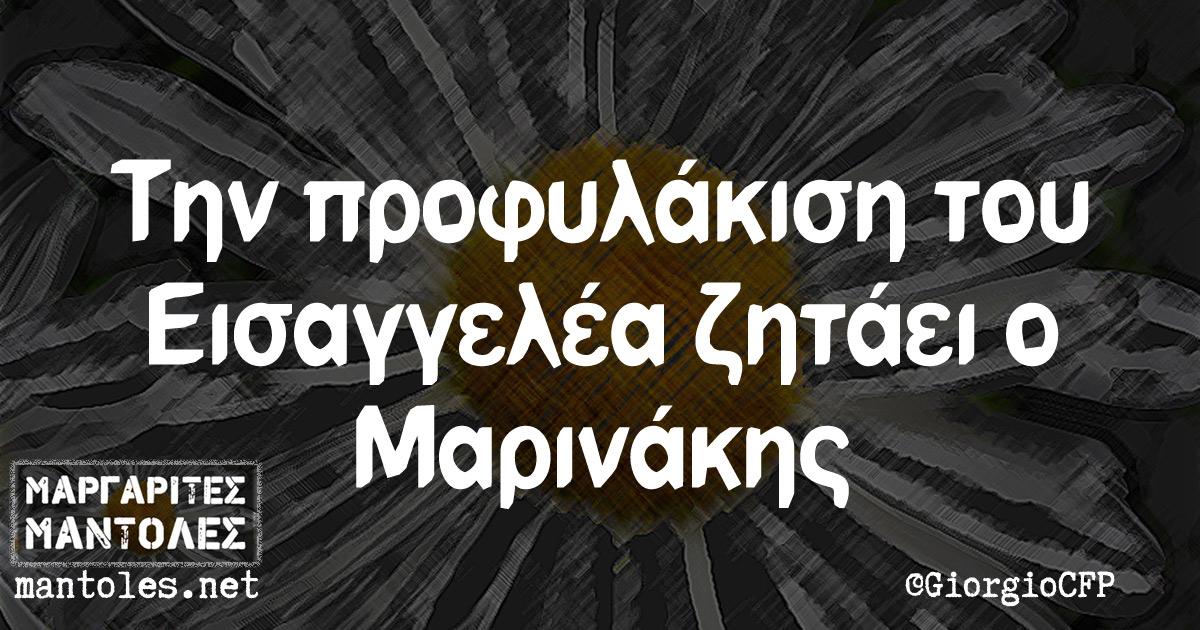 Την προφυλάκιση του Εισαγγελέα ζητάει ο Μαρινάκης
